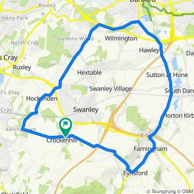 Crockenhill 15 mile loop