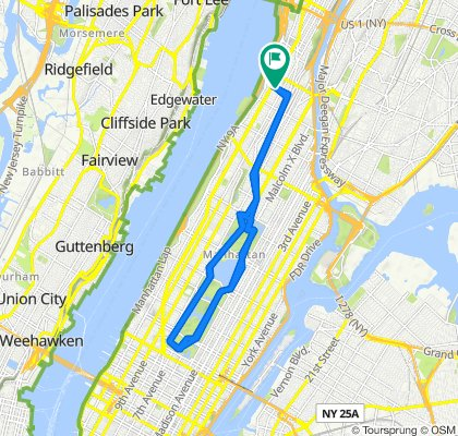 501–599 W 151st St, New York to 528 W 151st St, New York