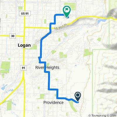 10 Sarah St, Providence to 1050 E 700 N, Logan