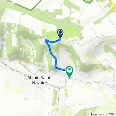 Steady ride in Ablain-Saint-Nazaire