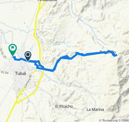 Steady ride in Tuluá