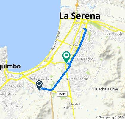 Paseo lento en Coquimbo