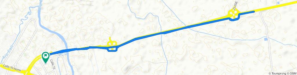 De Carrera 1a 3 72-42, Cali a Carrera 1a 3 72-42, Cali