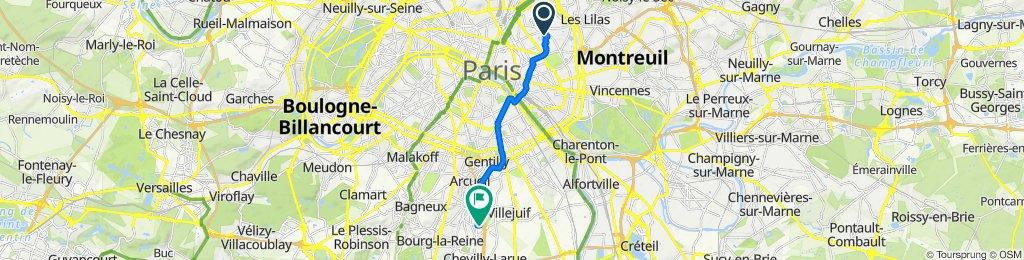 Itinéraire modéré en L'Haÿ-les-Roses