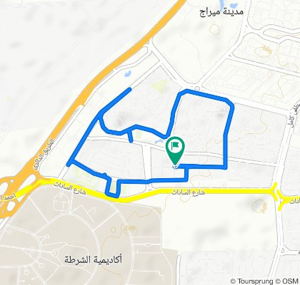 Restful route in East Nasr City