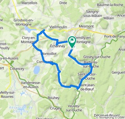 De Charmoy, Grenant-lès-Sombernon à D114, Grenant-lès-Sombernon