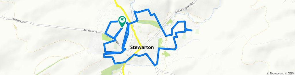 Kirkmuir Drive 73, Stewarton to Kirkmuir Drive 73, Stewarton