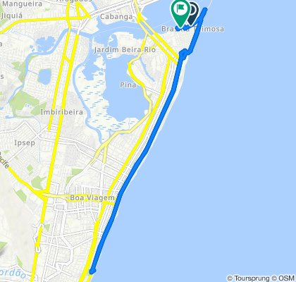 High-speed route in Recife