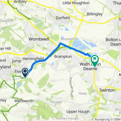 5 Wath Road, Barnsley to 4 Strathmore Grove, Rotherham