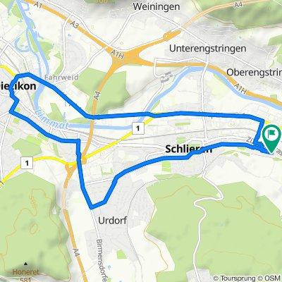 Steady ride in Schlieren