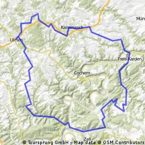 Rennradrunde Eifel und Hunsrück