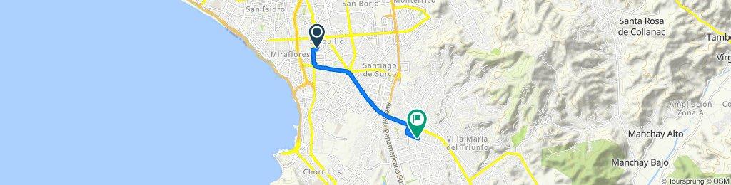 De San Lorenzo 224, Surquillo a Cipriano Rivas 741, Cercado de Lima