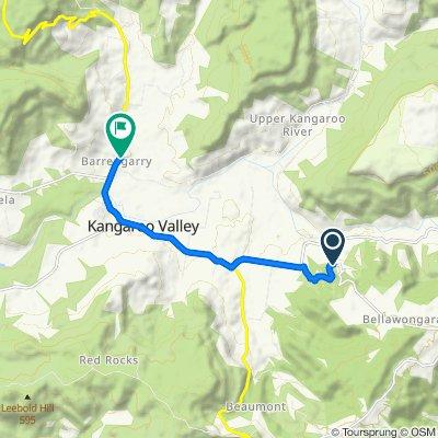 1386 Kangaroo Valley Road, Kangaroo Valley to 2167 Moss Vale Road, Barrengarry