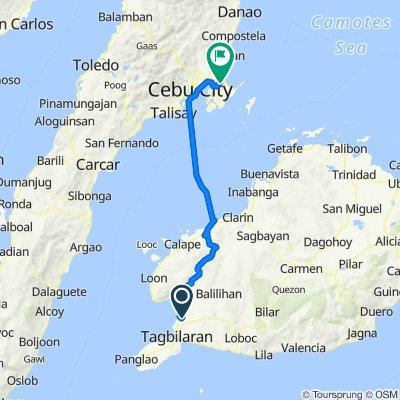 Dagohoy Road 1772, Tagbilaran City to Terminal Building Access Road, Lapu-Lapu City