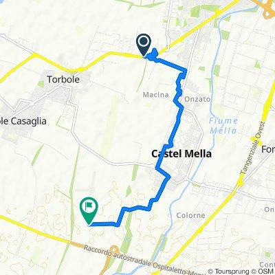 Giro a velocità lenta in Azzano Mella