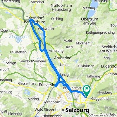 Salzachauen | Salzburg – Oberndorf/Laufen