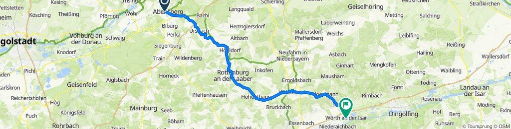 Rück_Abensberg-Offenstetten-Rohr-Niedereulenbach-Rottenburg-Türkenfeld-Hohenthann-Wörth