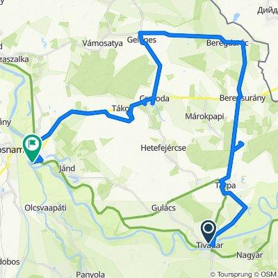 Felső-Tisza-vidék kerékpáros vándortábor 3. nap