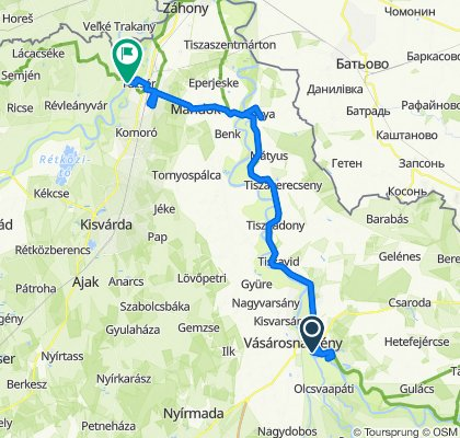 Felső-Tisza-vidék kerékpáros vándortábor 4. nap