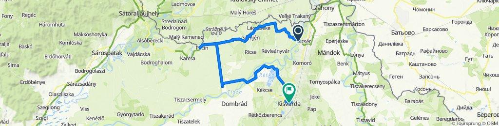 Felső-Tisza-vidék kerékpáros vándortábor 5. nap