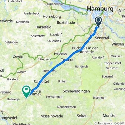 Hamburg Harburg - Rotenburg ( Wümme)