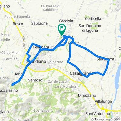 Da Via Roberto Ruffilli 2, Arceto a Via Roberto Ruffilli 2, Arceto