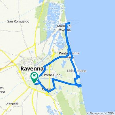 Da Via dei Nespoli 40, Ravenna a Via dei Nespoli 40, Ravenna