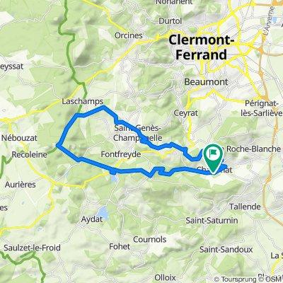 Restful route in Chanonat