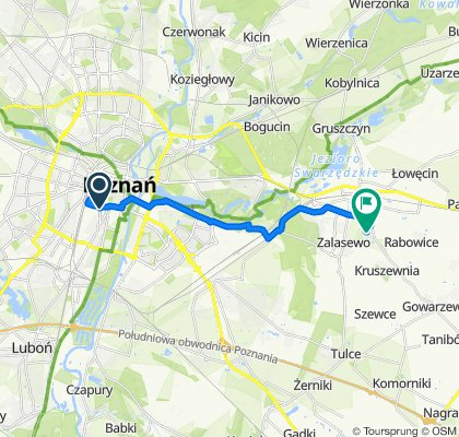 Powolna trasa w Zalasewo