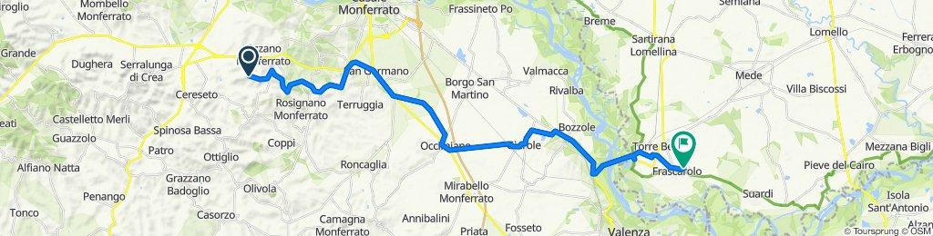 Da Via Sottocastello 2, Treville a Viale S.Antonio 5, Frascarolo