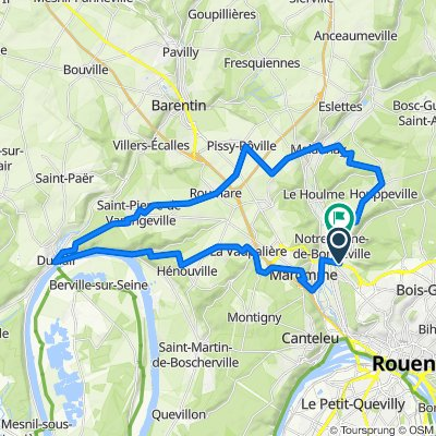 De 7 Impasse Gustave Guéville, Notre-Dame-de-Bondeville à 14 Rue Paul Verlaine, Notre-Dame-de-Bondeville