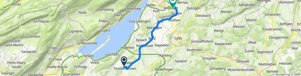 Bahnhofstrasse 4, Finsterhennen nach Flurstrasse 4, Aegerten