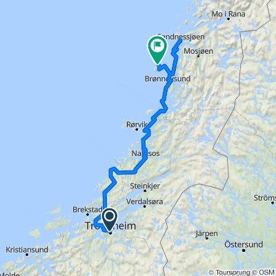 Norskekysten sør til nord etappe 4