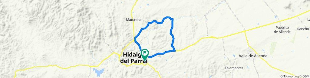Moderate route in Hidalgo del Parral