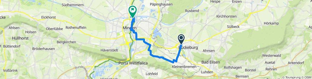 Easy ride in Bückeburg