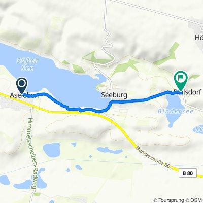 Zum Süßen See 8A, Seegebiet Mansfelder Land nach Raststätte 2, Seegebiet Mansfelder Land