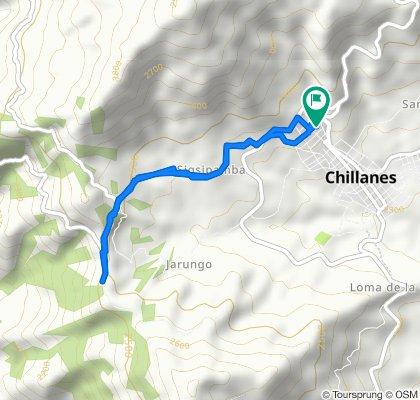 De Vía San Pablo Chillanes a Vía San Pablo Chillanes