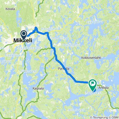 Route to Hovintie 224N–224f, Anttola