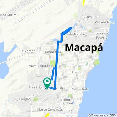 Slow ride in Macapá