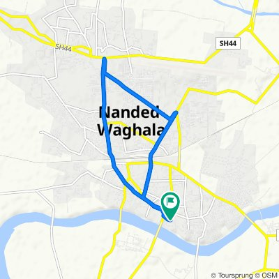 Steady ride in Nanded