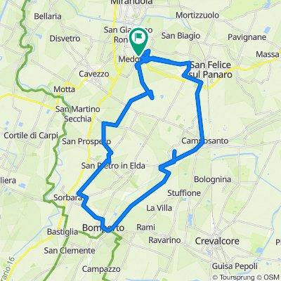 Da Via 25 Aprile 23, Medolla a Via 25 Aprile 17, Medolla