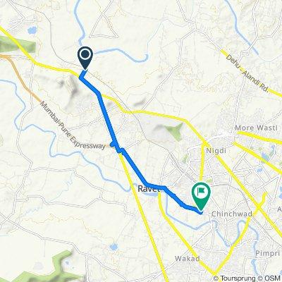 Steady ride in Pimpri Chinchwad