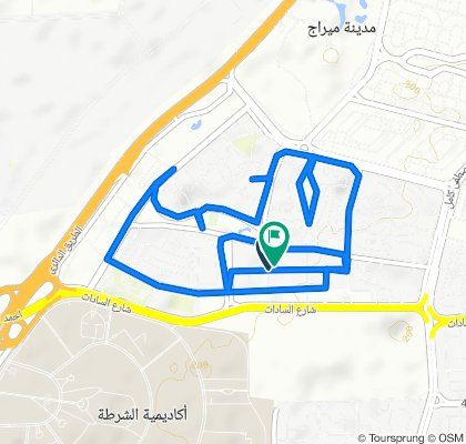 Relaxed route in East Nasr City