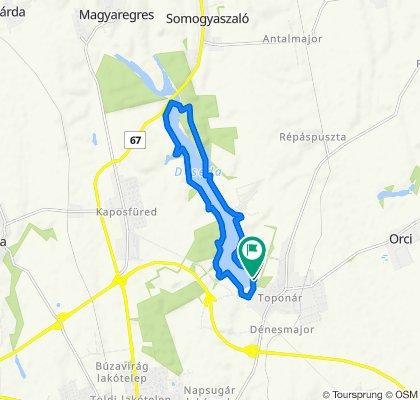 Kemping, Kaposvár to Kaposvár