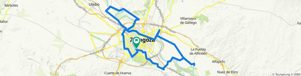 Por los parques y galachos de Zaragoza