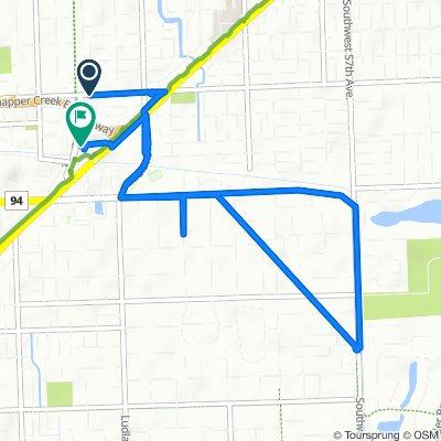 6900 SW 80th St, Miami to 8434 S Dixie Hwy, Miami