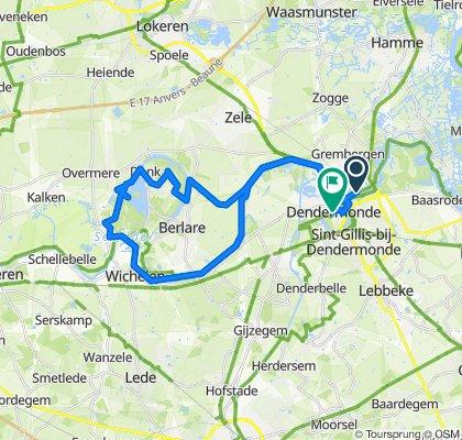 Moderate route in Dendermonde