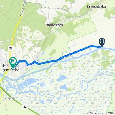 Osiedle Warniki 45, Witnica do Gorzowska 5B, Kostrzyn nad Odrą