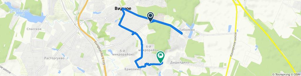 Blistering ride in Видное