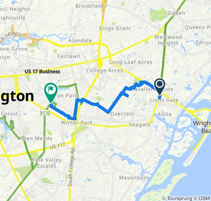 Military Cutoff Road 1427, Wilmington to Park Avenue 3405, Wilmington